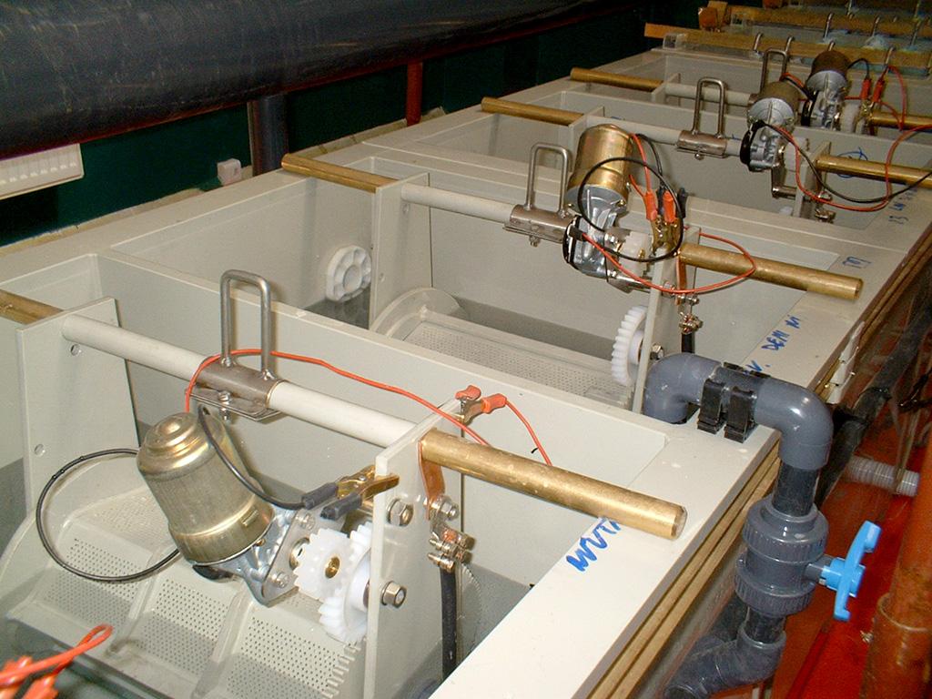Galvabrembo - Progettazione e realizzazione impianti galvanici a telaio
